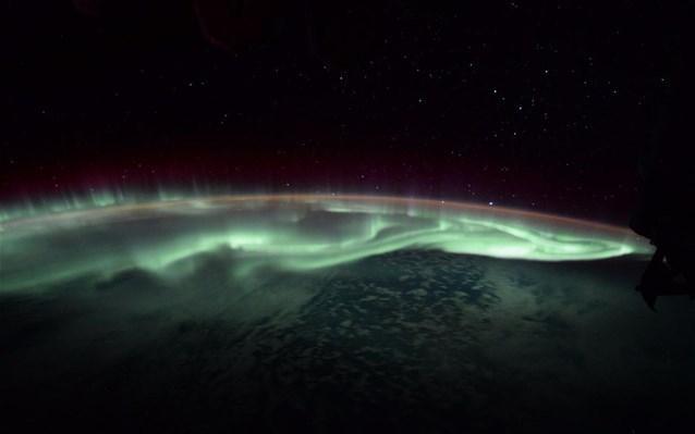 Διεθνής διαστημικός σταθμός, Σέλας,