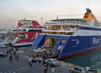 αυξημένη, κίνηση, λιμάνια, Πειραιάς, Ραφήνα, Λαύριο,