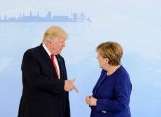 G2O: Συνάντηση Τραμπ - Μέρκελ
