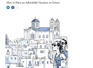 New York Times, Συμβουλές, διακοπές, Ελλάδα,