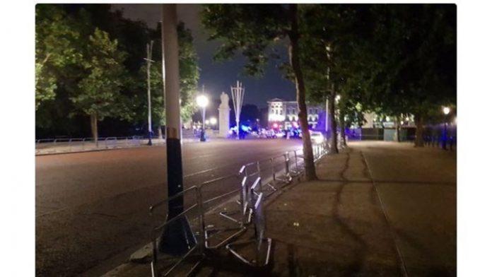 Λονδίνο, δράστης, επιτέθηκε, ματσέτα, Μπάκιγχαμ,