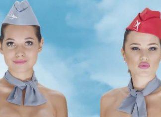 Καζακστάν, γυμνές, αεροσυνοδοί,