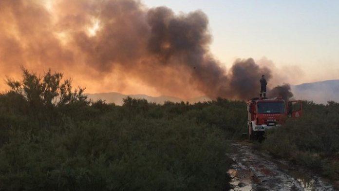 Ρόδος: Μεγάλη κινητοποίηση για φωτιά