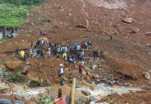 κατολίσθηση, Σιέρα Λεόνε, Φριτάουν, 500 νεκροί,