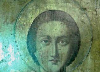 δάκρυσε, εικόνα, αγίου Παντελεήμονα, Πέλλα,
