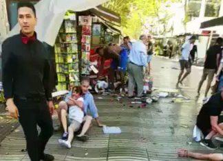Βίντεο, Βαρκελώνη, χτύπημα,