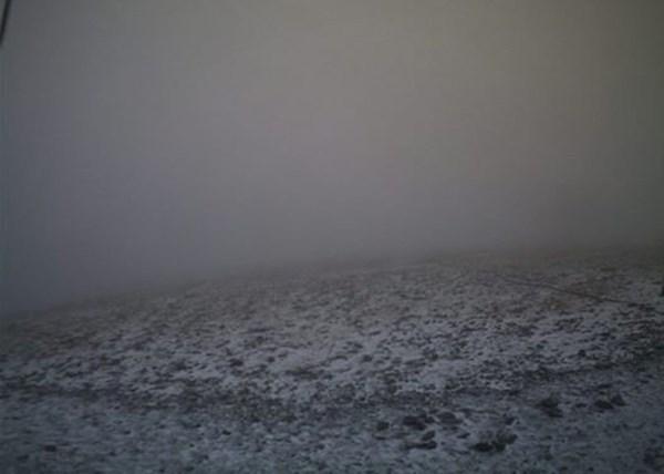 Όλυμπος, πρώτο, φθινοπωρινό χιόνι,