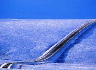 Αλάσκα, επικίνδυνος δρόμος, γη,