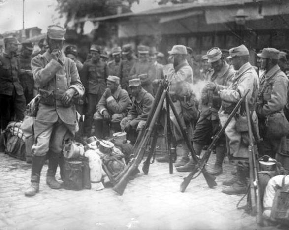 σαν σήμερα, Αγγλογαλλικά στρατεύματα, Αντάντ, Α' Παγκόσμιο Πόλεμο,