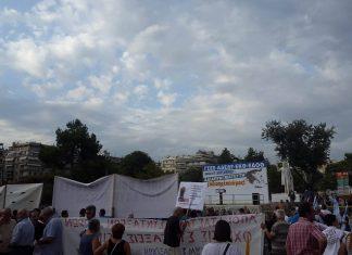 συγκέντρωση, ΓΣΕΕ - ΑΔΕΔΥ, Θεσσαλονίκη,