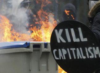 Γαλλία, διαδηλωτές, δρόμους,
