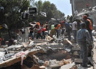 Μεξικό, σεισμός, νεκροί, εγκλωβισμένοι,