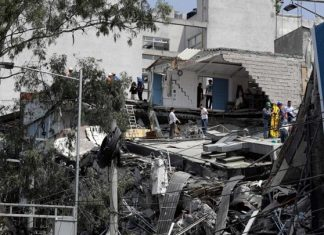 Μεξικό, Βίντεο, σεισμός, κατάρρευση, κτιρίου,