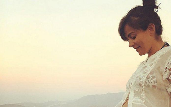 Αγγελική Δαλιάνη, δεύτερη εγκυμοσύνη,