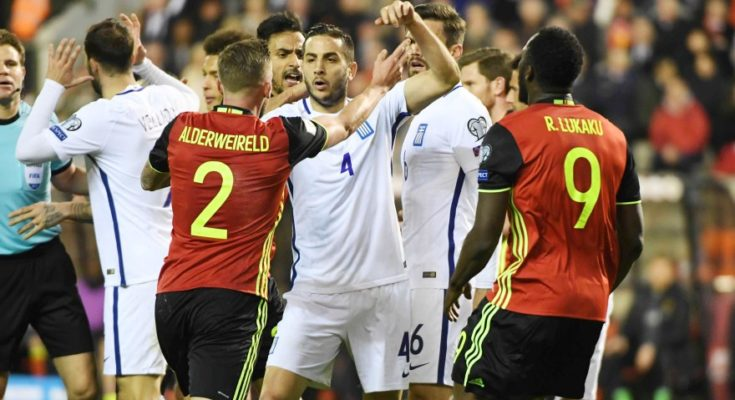 Εθνική Ελλάδας, ποδόσφαιρο, Βέλγιο, ήττα,
