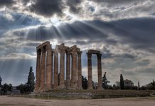 αποκατάσταση, ναός, Ολυμπίου Διός, Ιλισσός,