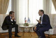 ελληνικές επιχειρήσεις, παρόν, συνάντηση, Τσίπρα, Μακρόν,