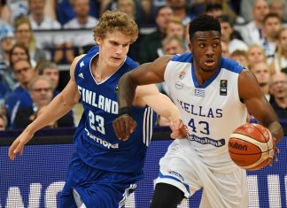 Eurobasket, Ελλάδα, Φινλανδία, ήττα,