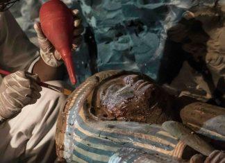 ανακαλύφθηκε, φαραωνικός τάφος, 1000 π.Χ.,
