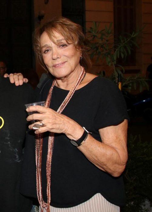 Μπέττυ Αρβανίτη, δημόσια εμφάνιση, 78 χρονών,