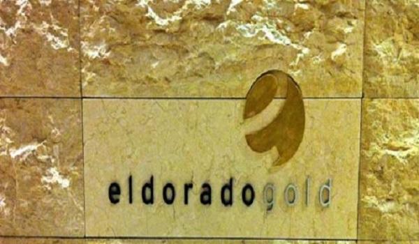 Eldorado Gold, Σκουριές, άδεια,