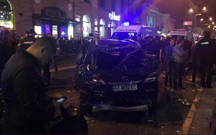 Ουκρανία: Όχημα έπεσε πάνω σε πεζούς στο Χάρκοβο