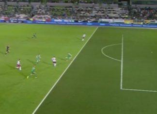 Ο Παναθηναϊκός επικράτησε με σκορ 2-1 της Λάρισας στη Λεωφόρο