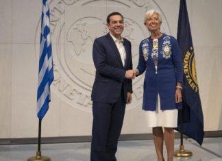 Λαγκάρντ: Θα παραμείνουμε με τον έναν ή τον άλλο τρόπο στην Ελλάδα