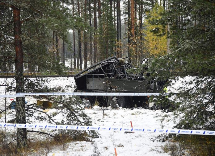 ΦΙΝΛΑΝΔΙΑ: Σύγκρουση τρένου με στρατιωτικό όχημα - Τέσσερις νεκροί