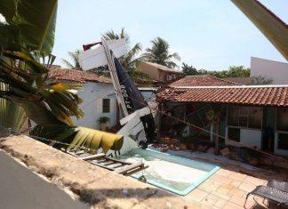 Βραζιλία, τρεις νεκροί, αεροπλάνο, πισίνα,