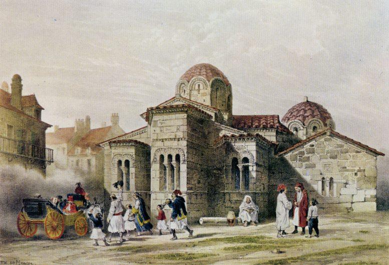 Ιστορίες, Καπνικαρέα, ιστορικός ναός, χιλίων χρόνων,