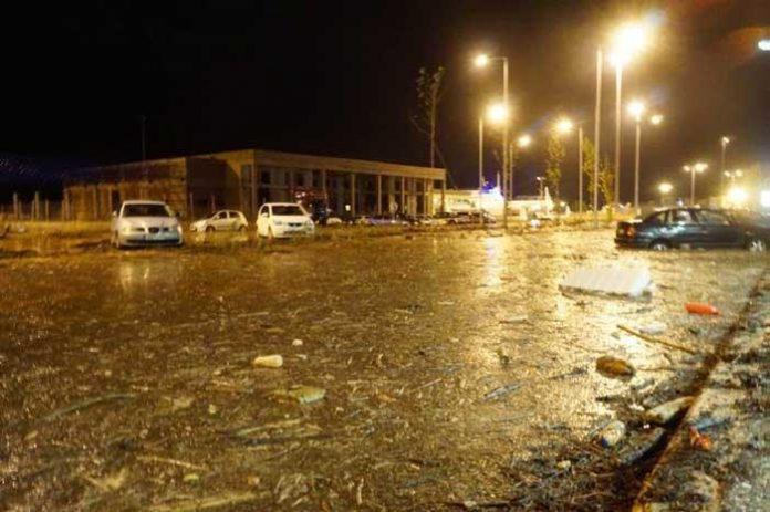 Ηγουμενίτσα: Καταστροφές λόγω κακοκαιρίας
