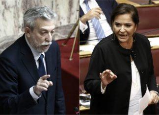 Βουλή: Σφοδρή σύγκρουση Κοντονή – Μπακογιάννη