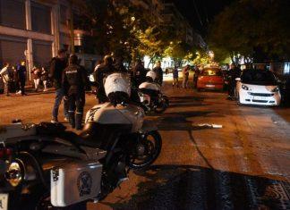 Πυροβολισμοί με δύο τραυματίες στο Παγκράτι