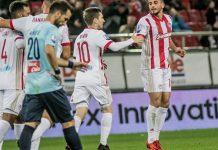 Europa League: Ολυμπιακός - Ντιναμό Κιέβου 2-2 Ολυμπιακός 1-2