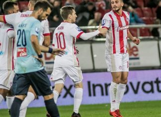 Europa League: Ντιναμό Κιέβου - Ολυμπιακός 1-0