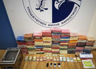 Ντοκουμέντο: Η στιγμή της σύλληψης του Σέρβου με τα 135 κιλά κοκαΐνης στη Βάρκιζα