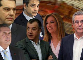 Στη δημοσιότητα τα πόθεν έσχες των πολιτικών αρχηγών