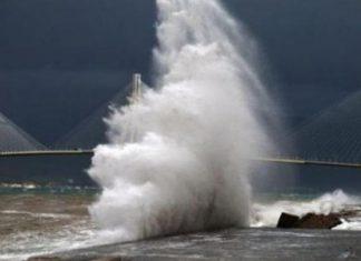 Ρίο - Αντίρριο: Κλειστή η πορθμειακή γραμμή - Θυελλώδεις άνεμοι πνέουν στην περιοχή