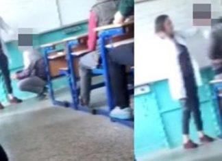 ΤΟΥΡΚΙΑ: Δασκάλα χαστουκίζει μαθητή