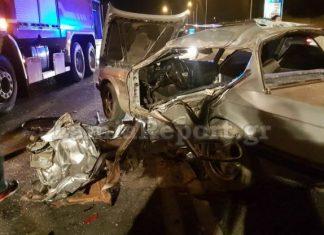 Λαμία: Τραγικό τροχαίο δυστύχημα με δύο νεκρούς