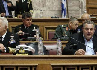 Καμμένος: Έτος μέριμνας για το προσωπικό των Ενόπλων Δυνάμεων το 2018