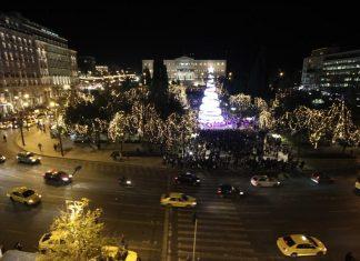 Σε ρυθμούς Χριστουγέννων επίσημα η Αθήνα