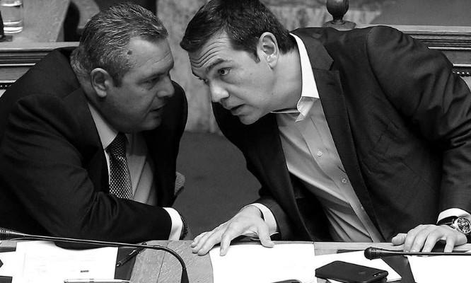 Ανανεώθηκαν οι όρκοι στις σχέσεις ΑΝΕΛ- ΣΥΡΙΖΑ, αλλά...