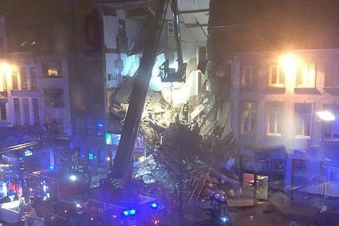 Βέλγιο: Έκρηξη σε εστιατόριο – Αρκετοί τραυματίες, κατέρρευσε κτίριο