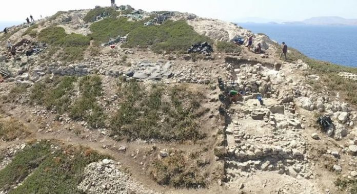 Απρόσμενα αρχαιολογικά ευρήματα από τις νέες ανασκαφικές έρευνες στο νησί της Κέρου