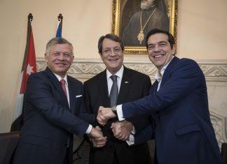 Τσίπρας-Αναστασιάδης-Αμπντάλα: Πυλώνες σταθερότητας οι χώρες μας