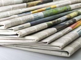Τα πρωτοσέλιδα των εφημερίδων για τις 10-11-2019