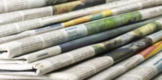 Τα πρωτοσέλιδα των εφημερίδων για τις 11-12-2019