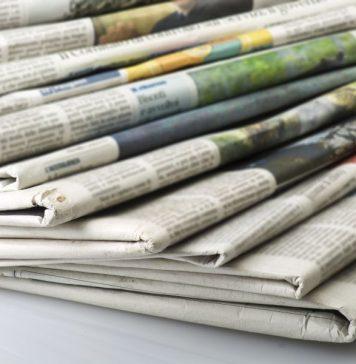 Τα πρωτοσέλιδα των εφημερίδων για τις 15-10-2019